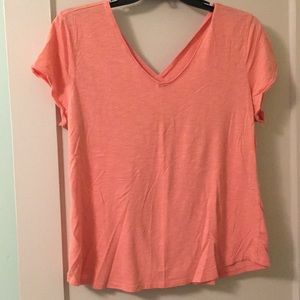 Maurices V neck front and back tee